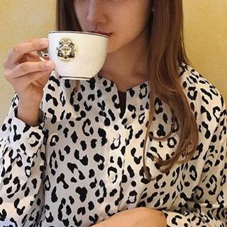 ロキエ(Lochie)の❤︎ 牛柄 かわいいtops ❤︎(Tシャツ(長袖/七分))