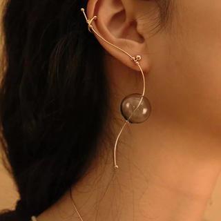 コス(COS)の更紗子様専用 j70.unique wire glass pierce(ピアス)