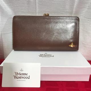 ヴィヴィアンウエストウッド(Vivienne Westwood)のVW ヴィヴィアン ガマ口 長財布 正規品(財布)