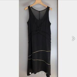 ハク(H.A.K)のH.A.K ハク フォーマル ワンピース ドレス 結婚式用 黒(ロングドレス)