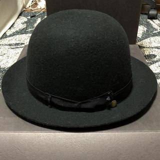 カシラ(CA4LA)のCA4LAカシラハット黒ブラック丸型(ハット)