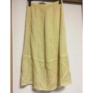シビラ(Sybilla)のシビラの綺麗色スカート(ひざ丈スカート)