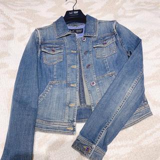 アルマーニジーンズ(ARMANI JEANS)のarmani jeans デニムジャケット gジャン(Gジャン/デニムジャケット)