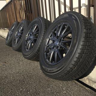 ダンロップ(DUNLOP)の215/65R16 スタッドレス 4本セット(タイヤ・ホイールセット)