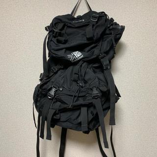 カリマー(karrimor)のカリマー リュックサック cougar 40-55 ブラック(リュック/バックパック)