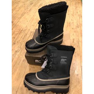 ソレル(SOREL)のSOREL CARIBOU メンズUS9 27cm 新品未使用 送料無料(ブーツ)