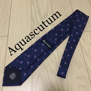 アクアスキュータム(AQUA SCUTUM)のAquascutum アクアスキュータム シルクネクタイ (ネクタイ)