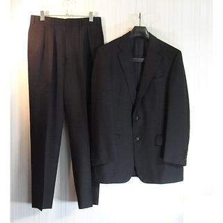 バーバリー(BURBERRY)のsizeL☆美品☆バーバリー ロンドン 2釦スーツ ブラック(セットアップ)