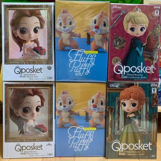 ディズニー(Disney)のQposket ディズニー フィギュア 6個セット(アニメ/ゲーム)