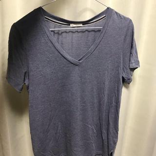 GAP - Vネック Tシャツ ネイビー