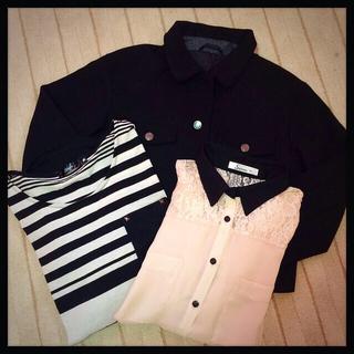 ジーユー(GU)の3点セット(Tシャツ(長袖/七分))