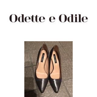 オデットエオディール(Odette e Odile)の【オデット エ オディール】イタリアンレザー靴(ハイヒール/パンプス)