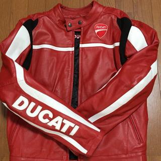 ドゥカティ(Ducati)のDucati レザージャケット新品未使用(レザージャケット)