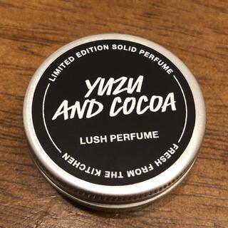 ラッシュ(LUSH)のLUSH シトラスショコラ ソリッドフレグランス(ユニセックス)
