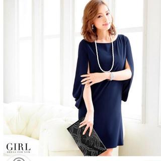 ガール(GIRL)のGIRL♡(ひざ丈ワンピース)