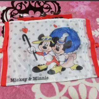 ディズニー(Disney)のディズニー ミッキー&ミニー 3WAY 洗濯ネット(日用品/生活雑貨)