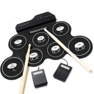 ★大人気★電子ドラムセット ペダル スティック付き 練習・入門(電子ドラム)