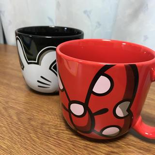 ディズニー(Disney)のペアマグカップ  ディズニー(ミッキー、ミニー)(マグカップ)