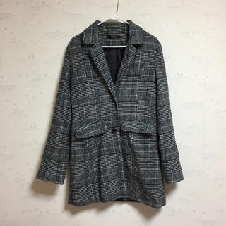 ゴージ(GORGE)の【未使用】グレンチェック ジャケットコート(チェスターコート)
