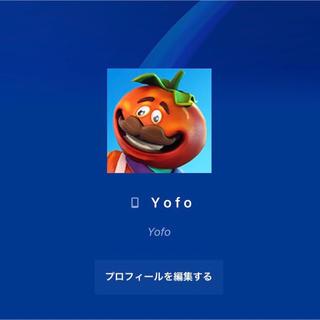 プレイステーション(PlayStation)のPSN4文字ID  Yofo(家庭用ゲームソフト)