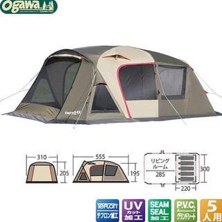 キャンパルジャパン(CAMPAL JAPAN)の中古 ogawa キャンパル ティエラ Tierra5-EX キャンプ テント(テント/タープ)
