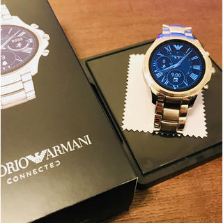 エンポリオアルマーニ(Emporio Armani)のエンポリオアルマーニ  スマートウォッチ(腕時計(アナログ))