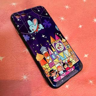 Disney - iPhone7 ケース カバー Disney イッツアスモールワール
