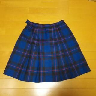 ザスコッチハウス(THE SCOTCH HOUSE)のThe Scotch house スカート165cmブルーにチェック柄(スカート)