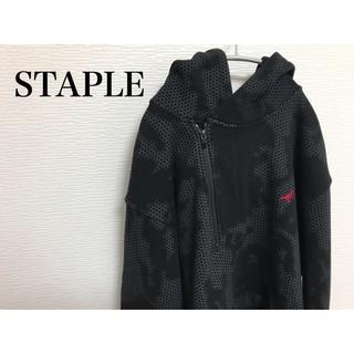 ステイプル(staple)のSTAPLE パーカー 総柄(パーカー)