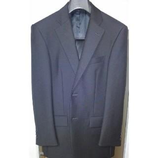 定価13万円!高級ハンドメイドスーツ スーパーブラック色