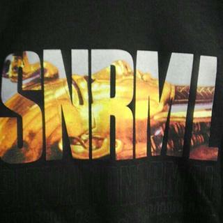 スナフー(SNAFU)のSNAFU スナフー ツタンカーメン Tシャツ 黒 M 未使用 (Tシャツ/カットソー(半袖/袖なし))