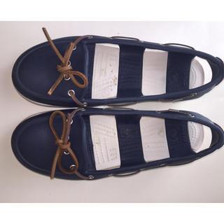 クロックス(crocs)のクロックス ローファー 25cm(ローファー/革靴)