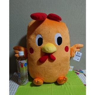 タイトー(TAITO)のLチキ 特大サイズぬいぐるみ エルチキンちゃん [プライズ] (新品タグ付き!)(キャラクターグッズ)