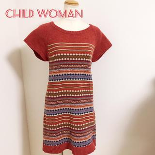 チャイルドウーマン(CHILD WOMAN)のチャイルドウーマン//ニコアンドスタジオクリップマーガレットハウエルチチカカ(ひざ丈ワンピース)