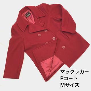 マックレガー(McGREGOR)の【美品】mcgregor マックレガー Pコート ヴィンテージ 赤 ウール M(ピーコート)