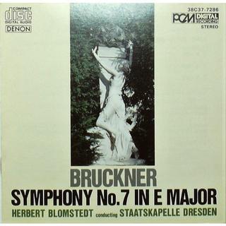 絶盤 ヘルベルト・ブロムシュテット指揮 ブルックナー交響曲第7番(クラシック)