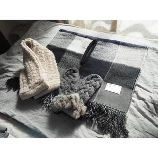 ニコアンド(niko and...)の【niko and ...】冬の暖かグッズ①(ストール/パシュミナ)