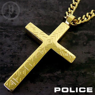 ポリス(POLICE)の【美品】POLICE ポリス SINNER ネックレス(ネックレス)