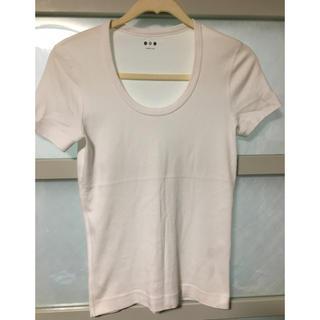 スリードッツ(three dots)のスリードッツ ジェシカTシャツ 白(Tシャツ(半袖/袖なし))