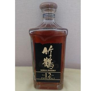 ニッカウイスキー(ニッカウヰスキー)の竹鶴新旧ボトル各660ml(ウイスキー)