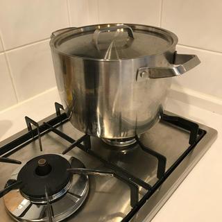 ムジルシリョウヒン(MUJI (無印良品))の無印良品 3500ml ステンレス鍋(鍋/フライパン)