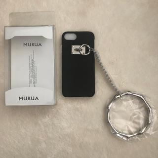 ムルーア(MURUA)の新品 MURUA ムルーア iPhone6 6s 7 8ケース(iPhoneケース)