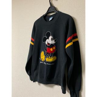 ディズニー(Disney)の☆ 80s USA製 オフィシャル ヴィンテージ ミッキー スウェット ☆(トレーナー/スウェット)