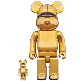 MEDICOM TOY - BE@RBRICK TYGA SORAYAMA 100% & 400% GOLD