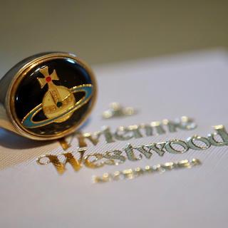 ヴィヴィアンウエストウッド(Vivienne Westwood)の希少 Vivienne Westwood エナメルオーブリング エナメルリング (リング(指輪))