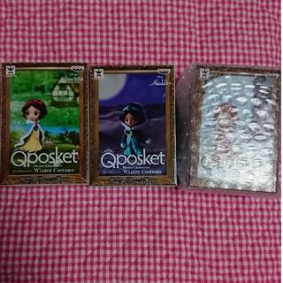 ディズニー(Disney)のQ posket petit Winter Costume 3個セット(アニメ/ゲーム)