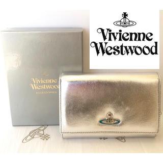 ヴィヴィアンウエストウッド(Vivienne Westwood)の大人気!【訳あり・新品】Vivienne Westwood 二つ折財布 本物保証(財布)