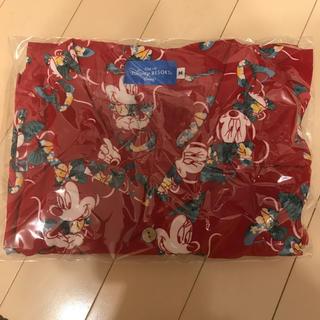 ディズニー(Disney)の早い者勝ち❣️ミニー アロハシャツ レッド(シャツ/ブラウス(半袖/袖なし))
