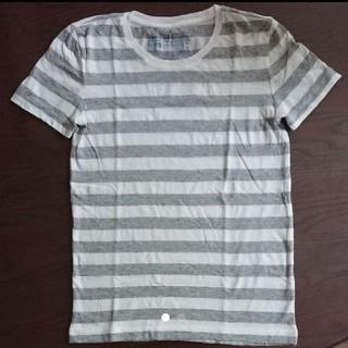 MUJI (無印良品) - 無印良品 ボーダー Tシャツ Sサイズ