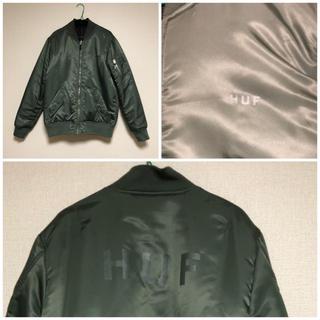 ハフ(HUF)の【新品未使用】HUF MA-1ジャケット(ブルゾン)